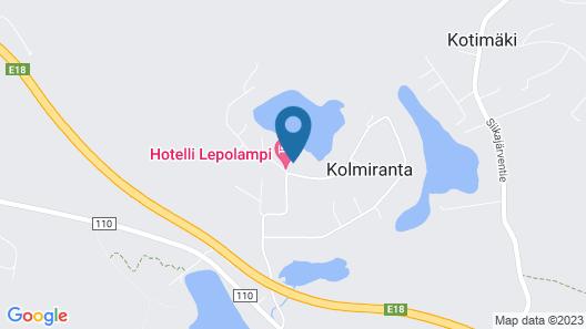 Hotelli Lepolampi Map