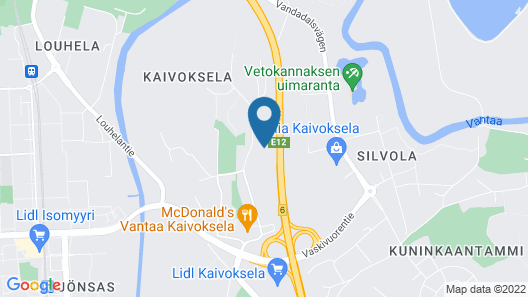 Hiisi Homes Vantaa Kaivoksela Map