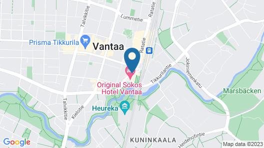 Original Sokos Hotel Vantaa Map