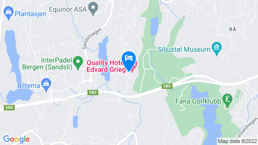 Quality Hotel Edvard Grieg Map