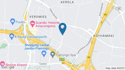Holiday Inn Helsinki - Vantaa Airport Map