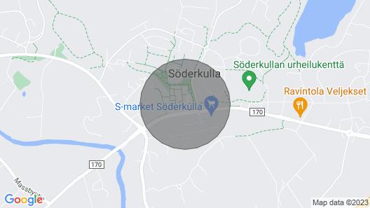 One-bedroom Apartment With a Balcony and Sauna in Söderkulla, Sipoo - Keskustatie 4 Map