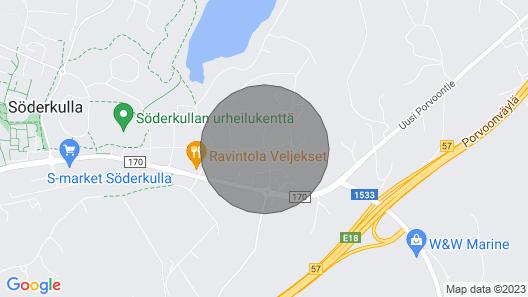 Studio Apartment in Sipoo, Graniittitie 6 Map