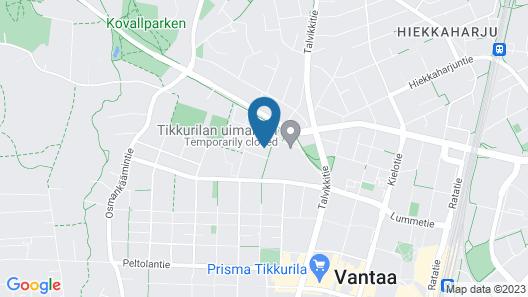 Hotelli Tikkurila Map