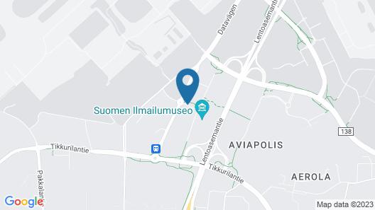 Clarion Hotel Aviapolis Map