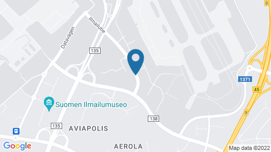 Forenom Hostel Vantaa Aviapolis Map