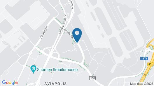 Forenom Hostel Vantaa Airport Map