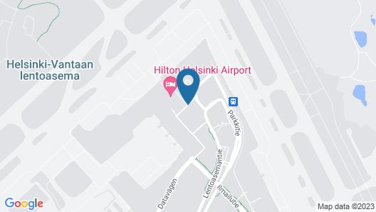 Hilton Helsinki Airport Map