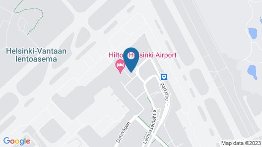 Scandic Helsinki Airport Map