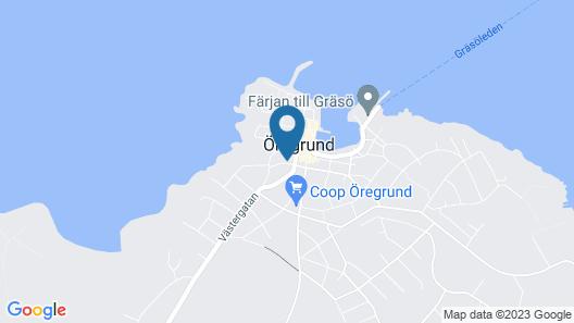 Hotell Klockargården Map