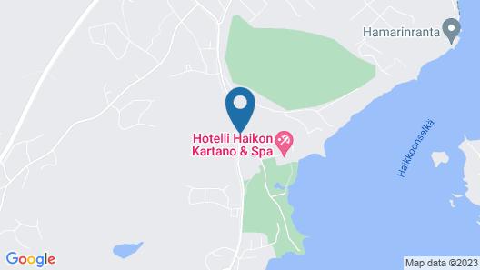 Hotel Haikko Manor Map