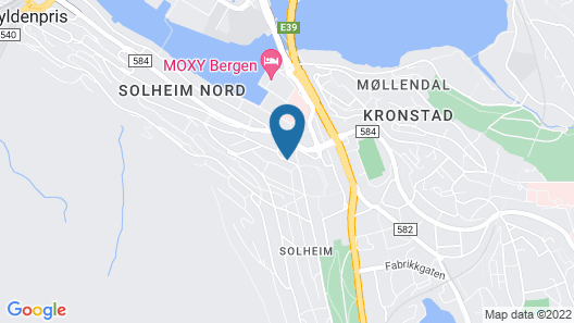 Magic Hotel Solheimsviken Map