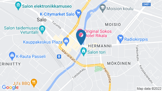 Scandic Salo Map