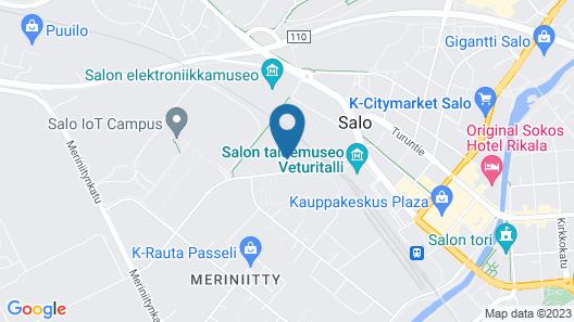 Pii Hotel Map
