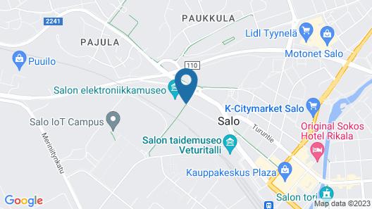 Hotel Salora Map