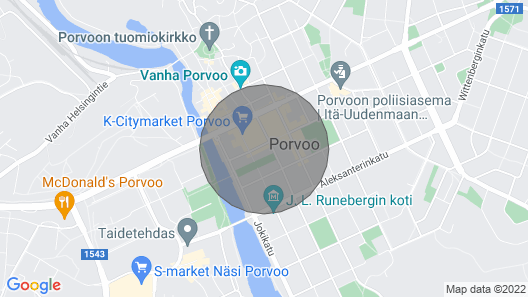 Two-bedroom Apartment With a Balcony in Porvoo City Center - Lundinkatu 7 Map