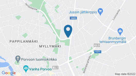 Guesthouse Stranda Porvoo Map