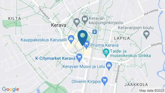 Hotelli Kerava Map
