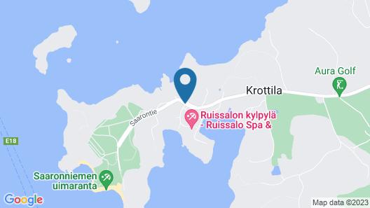 Ruissalo Spa Hotel Map