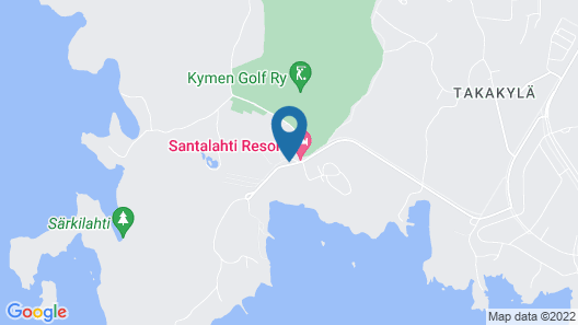 Santalahti Resort Map