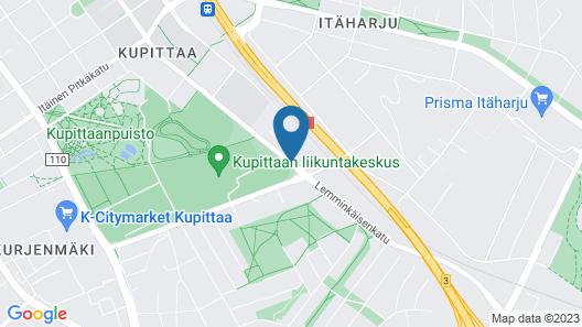 Guesthouse Kupittaa Map