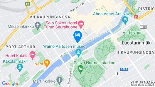 Radisson Blu Marina Palace Hotel, Turku Map