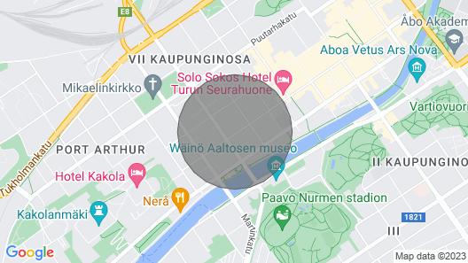 Brand new Studio in City Center Map