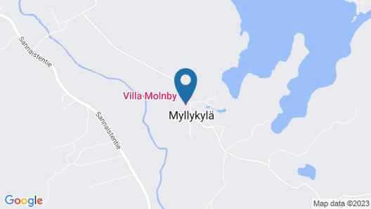 Hotel Villa Molnby Map