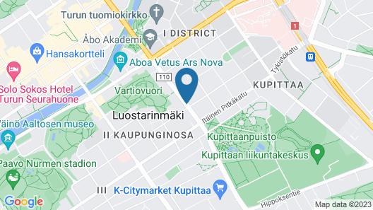 Forenom Serviced Apartments Turku Uudenmaankatu Map