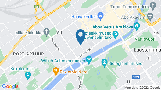 Scandic Atrium Map