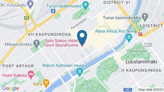 Solo Sokos Hotel Turun Seurahuone Map