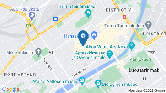 Scandic Plaza Turku Map