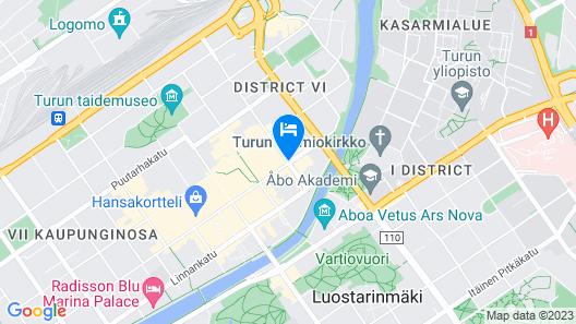 Scandic Julia Map