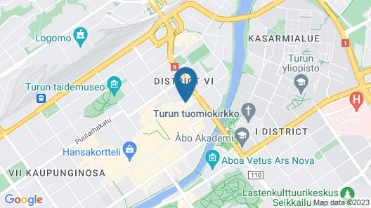 Centro Hotel Turku Map