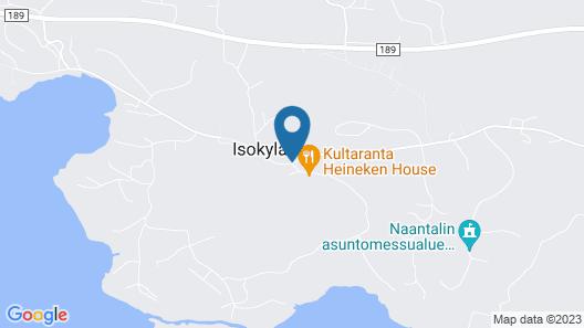 Kultaranta Resort Map