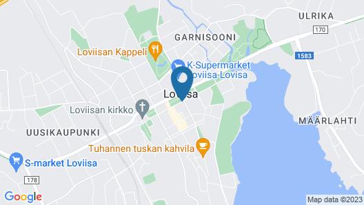 Hotel Degerby Map