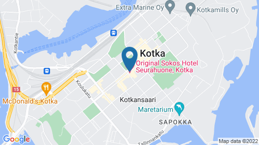 Original Sokos Hotel Seurahuone Kotka Map