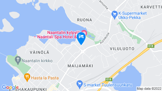 Naantali Spa Hotel Map