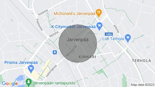 Studio Apartment in Järvenpää, Harava 5 Map