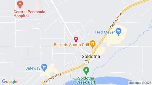 Soldotna Inn Map