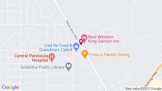 Best Western King Salmon Inn Map