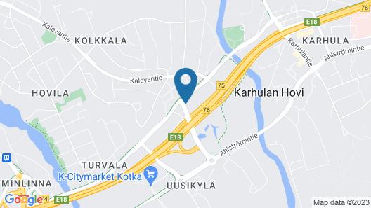 Scandic Kotka Map