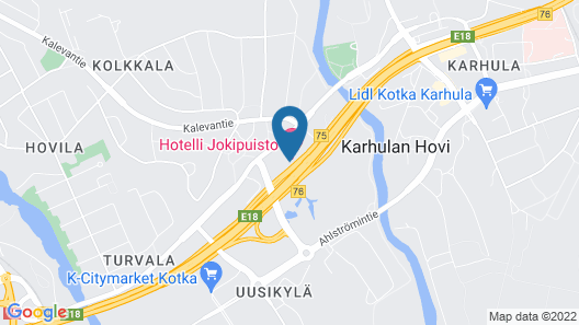 Scandic Kotka Map