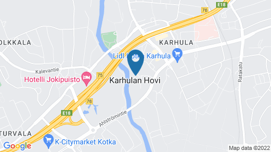 Kartanohotelli Karhulan Hovi Map
