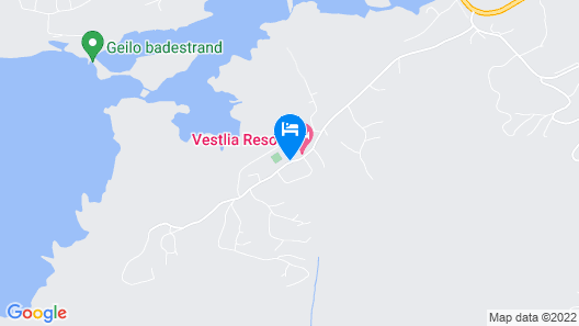 Vestlia Resort Map