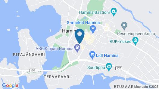 SpaHotel Hamina Map