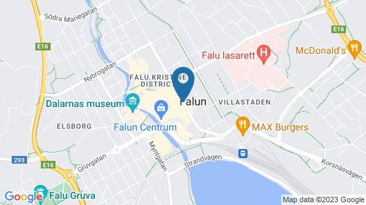 First Hotel Grand Falun Map