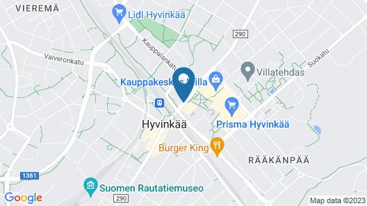 Scandic Hyvinkää Map