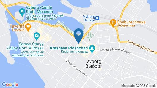 Vyborg Hotel Map