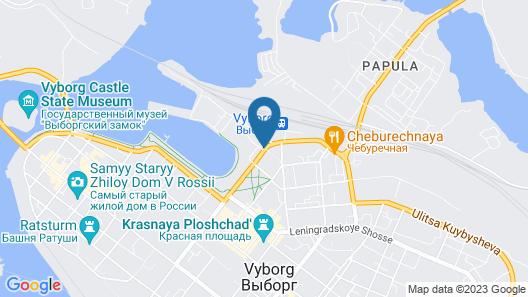 Druzhba Map